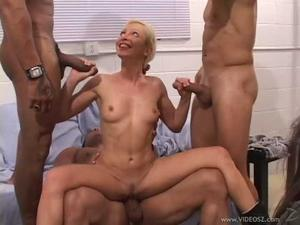 Shaved rubbing pussy 69