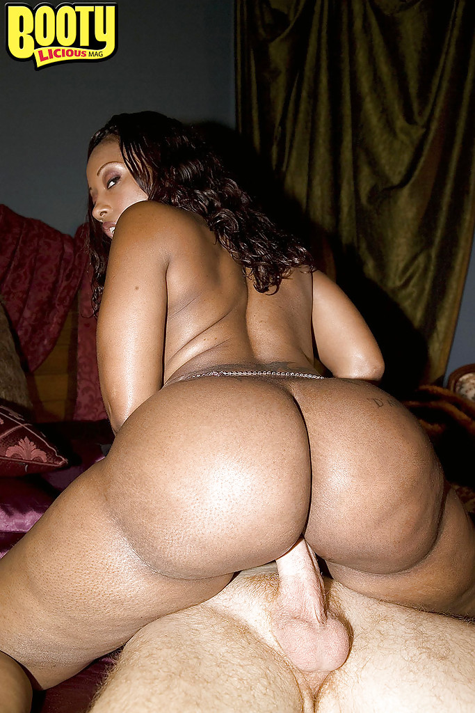 Hot black girl with big ass