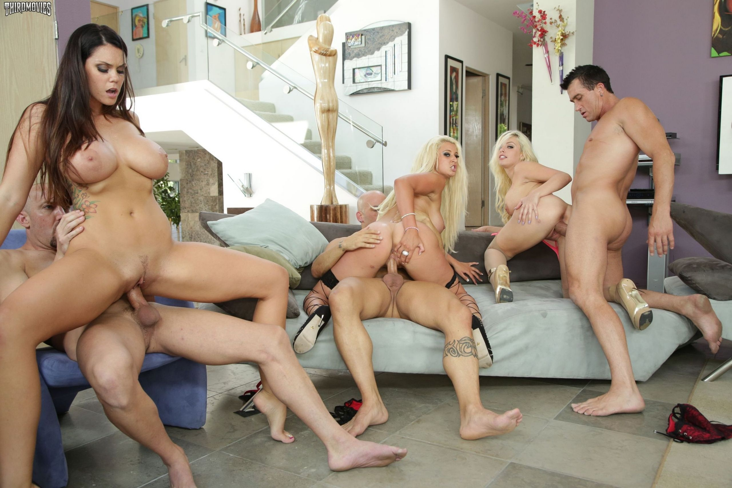 Group of women with big tits getting fucked Fucking Big Tits Group Free
