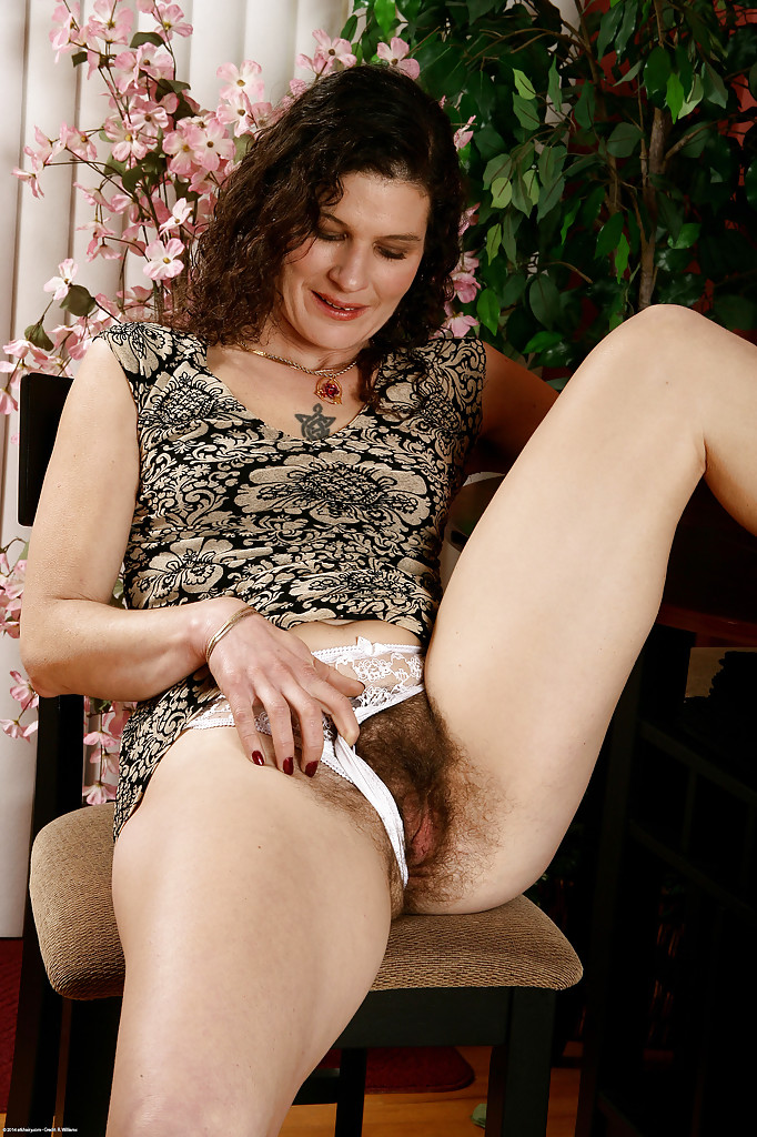 Hairy mom and boy sex